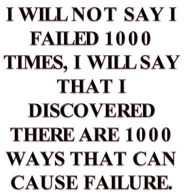 I discovered 1000 ways